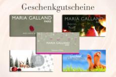 Auswahl der erhältlichen Gutscheine